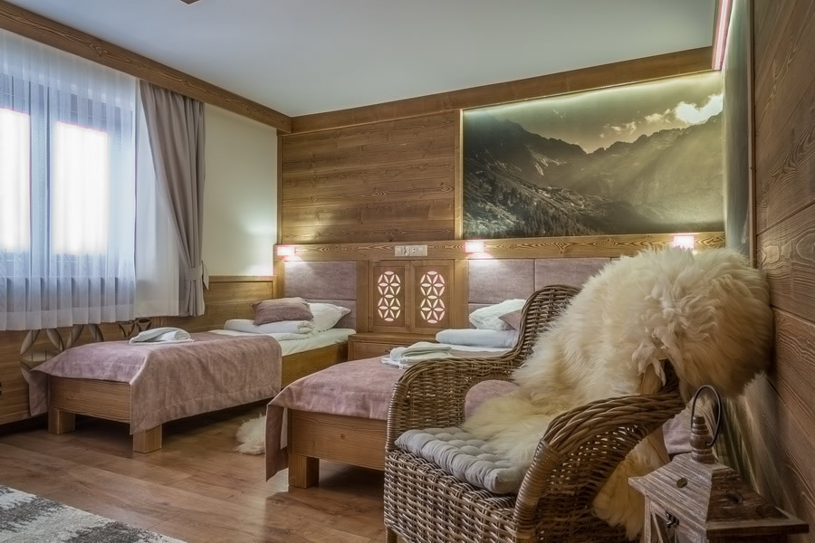 Furnishing rooms